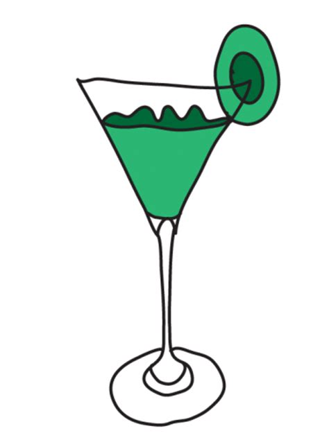 martini olive clipart b day party kiwi martini clipart meylah