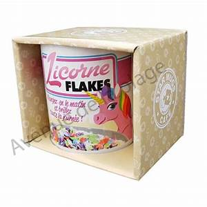 Mug Licorne Pas Cher : mug humoristique licorne flakes tasse caf licorne ~ Teatrodelosmanantiales.com Idées de Décoration