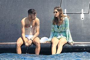 Neymar and girlfriend Bruna Marquezine board a luxury boat ...