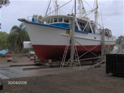 Commercial Fishing Boat Licence For Sale Qld by Timber Prawn Trawler With Licence Commercial Vessel