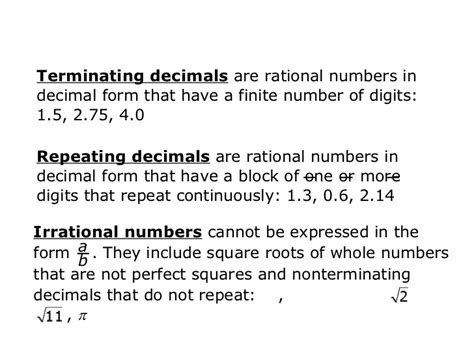 classification of numbers and variables and expression