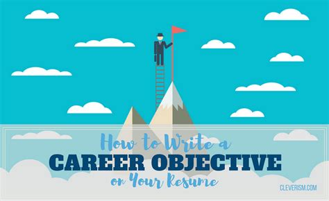 How To Write Your Objective On A Resume by How To Write A Career Objective On Your Resume