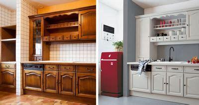 refaire les armoires de cuisine meuble cuisine simple le bois chez vous