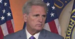 Kevin McCarthy Shreds Democrat's Phony Impeachment Push ...