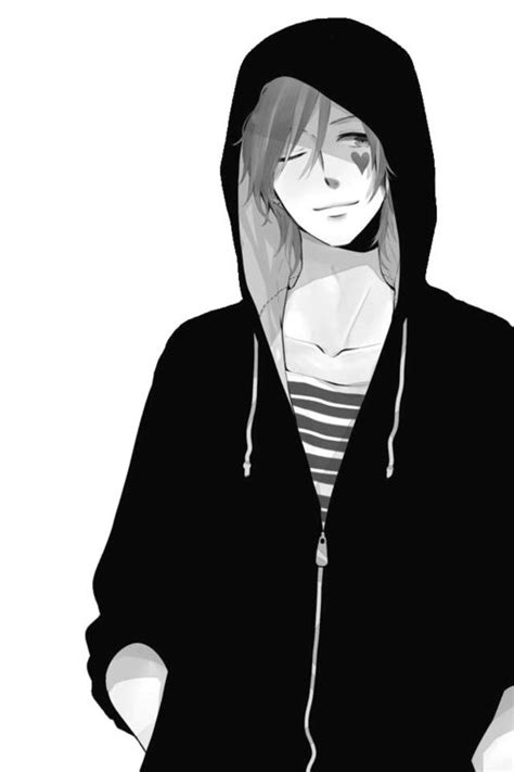 Best Anime Boy With Hoodie Ideas And Images On Bing Find What