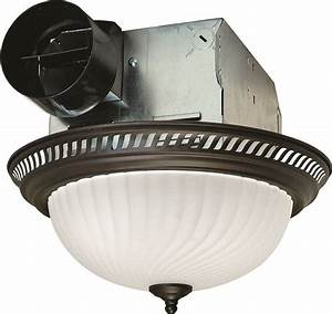 Air King Drlc701 Decorative Round Exhaust Fan  Light Combo