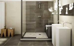 Badgestaltung Ohne Fliesen : badgestaltung beispiele bestehen aus badewanne freistehend ~ Michelbontemps.com Haus und Dekorationen