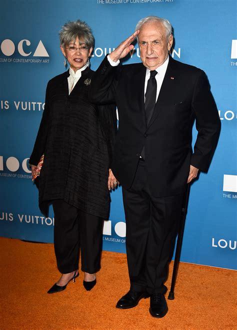 Frank Gehry And Berta Isabel Aguilera Photos Photos  Moca
