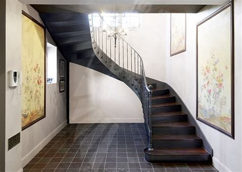 l escalier du bistrot photo dt122 esca droit 174 2 4 tournants escalier d int 233 rieur balanc 233 style bistrot en m 233 tal