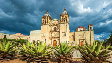 santo domingo temple  oaxaca mexico hd mexico wallpapers