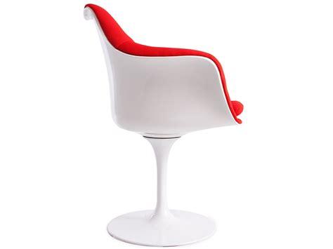 Tulip Arm Chair Saarinen  Wool Padded