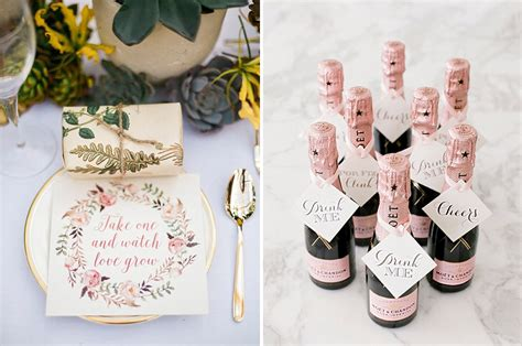 unique and eco friendly wedding favour ideas your guests will