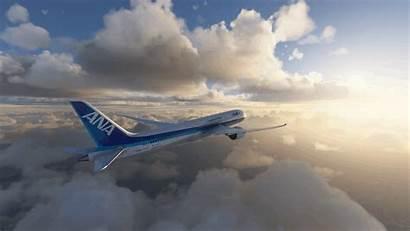 Ana B787 Flight Simulator Microsoft Mod