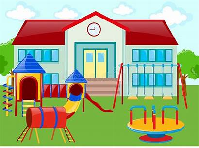 Playground Clipart Illustration Building Illustrations Vector Dreamstime