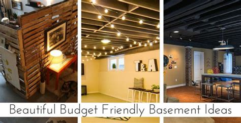 Budget Friendly Basement Ceiling Ideas by 118 Best Images About Basement Ideas On Home
