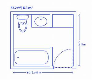 Small Bathroom Layout Dimensions In Meters  U2013 Wires  U0026 Decors