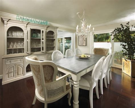 grey and white dining table white dining table with distressed grey top for the home
