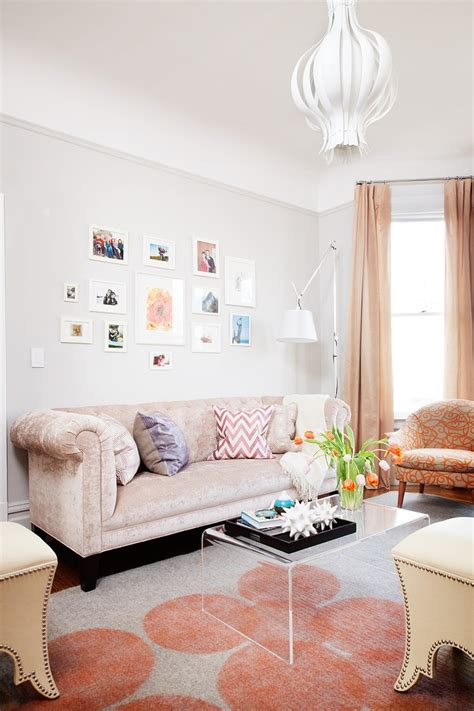 Girly Living Room by 31 Living Room Design Ideas