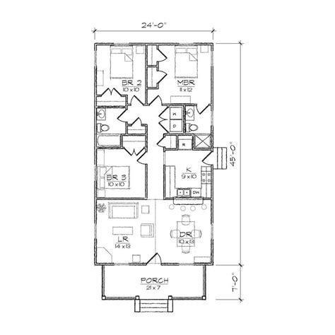 bedroom house plans narrow lot inspirational narrow