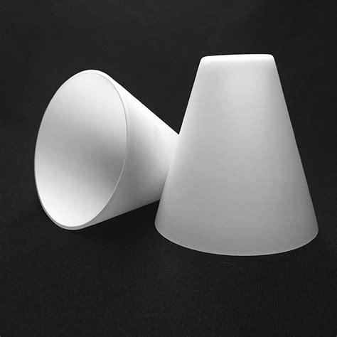 cone shaped l shades custom best quality frosted cone shaped glass l shade