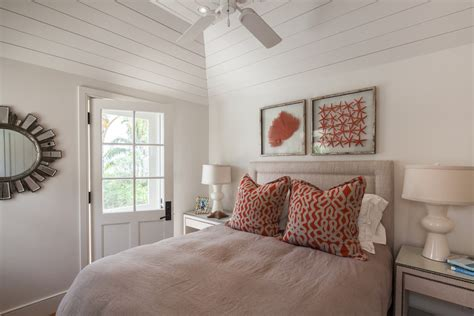 inspired faux coral look toronto style bedroom decorating ideas with above headboard