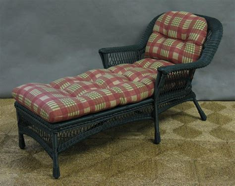 Mackinac Outdoor Wicker Chaise Lounge [nc369cl]