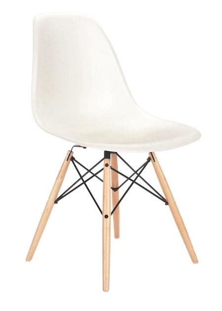 furniture eames side chair with wooden dowel legs