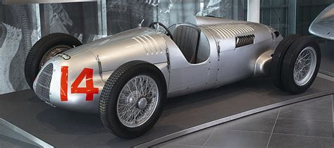 1939 Auto Union Silver Arrow Twin-supercharger Type D