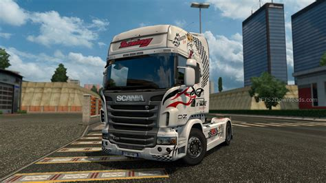 The Fastest Truck Skin For Scania R  Euro Truck Simulator