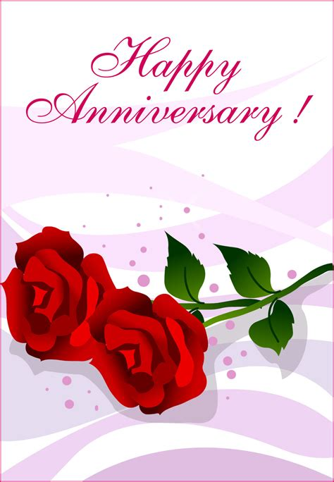 Happy Anniversary Picture by Happy Anniversary Roses Happy Anniversary Card Free