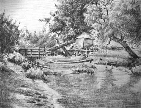 untitled landscape drawing  koanne  deviantart