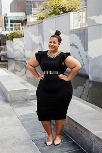 BLOG UPDATE Plus Size Little Black Dress Fashionable