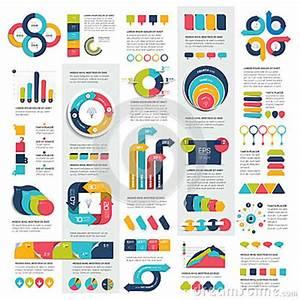 Mega Set Of Infographics Elements Charts  Graphs  Circle