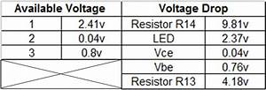 voltage drop resistor led - 28 images - talking ...