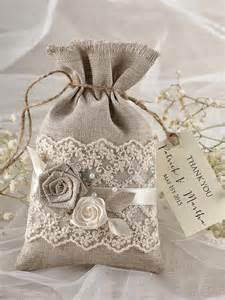 wedding favor bags rustic wedding favor bag lace wedding favor bag 2218168 weddbook