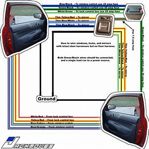 Where To Get Power For Power Window Wiring - Honda-tech