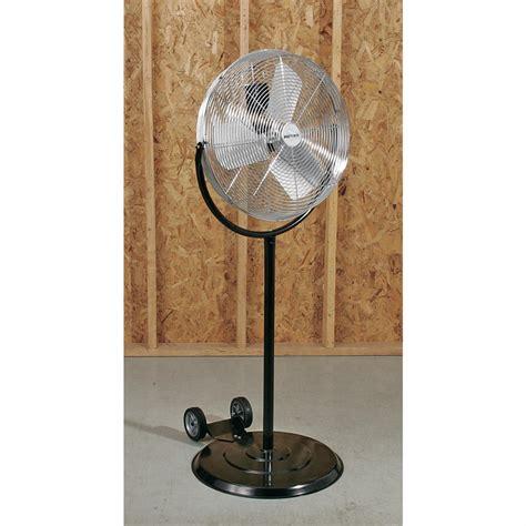 industrial stand up fan patton 20 quot industrial pedestal fan 101412 garage