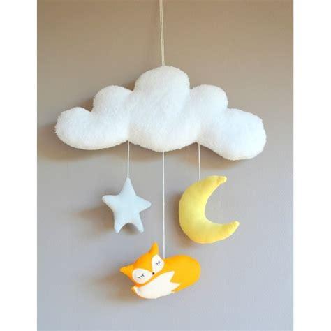 mobile chambre bébé decoration renard bebe
