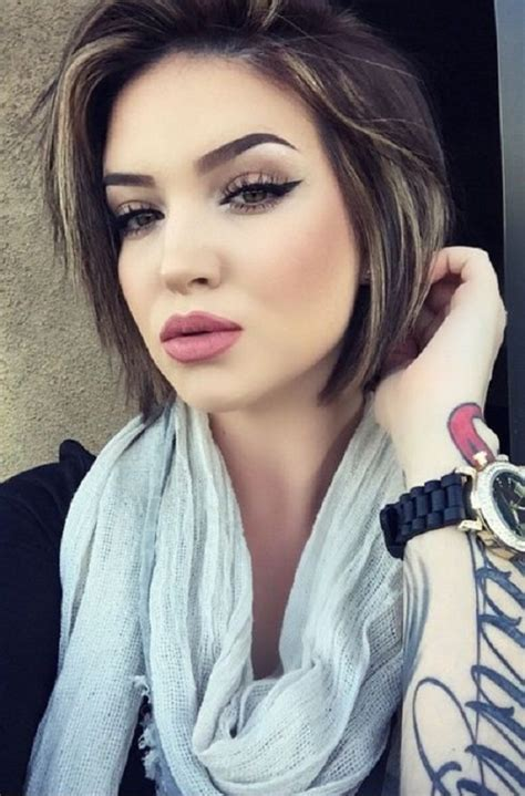 cute short hairstyles   faces feed inspiration