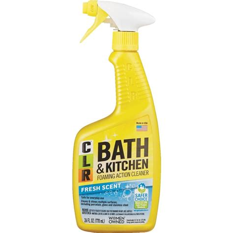 Does Clr Bathroom Cleaner Work by Clr Enhanced Bagthroom Kitchen Cleaner