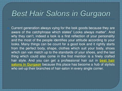 hair salons gurgaon