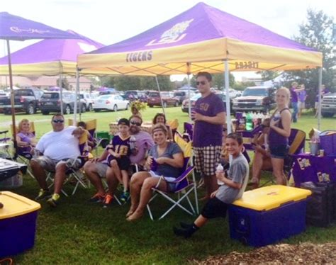 LSU Tailgating: Through the Eyes of a First Timer
