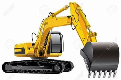 Excavator Clipart Digger Alat Berat Google Digging