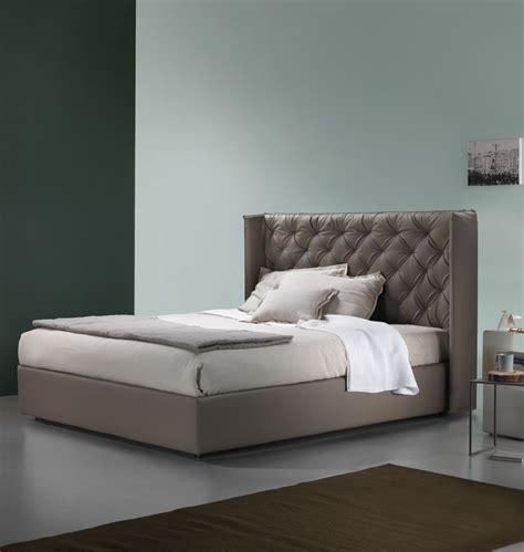ideen schlafzimmer lederbett lederbett quot debbie quot braun 180 cm italienisches design