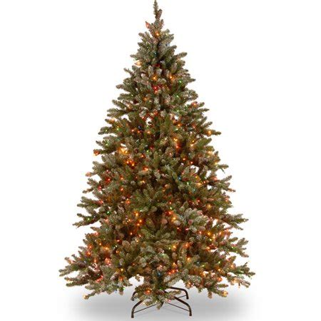 what is a hinged artificial christmas tree national tree pre lit 9 snowy concolor fir hinged artificial tree with 950 ready lit