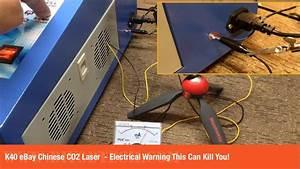 K40 Ebay Chinese Co2 Laser