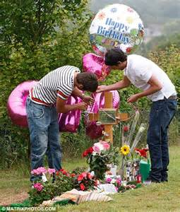 Ideas For Graveside Decorations by Jack Tweed Marks Jade Goody S 28th Birthday The Day