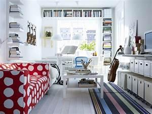 Gästezimmer Einrichten Ikea : schlafzimmer und b ro in einem raum ~ Buech-reservation.com Haus und Dekorationen