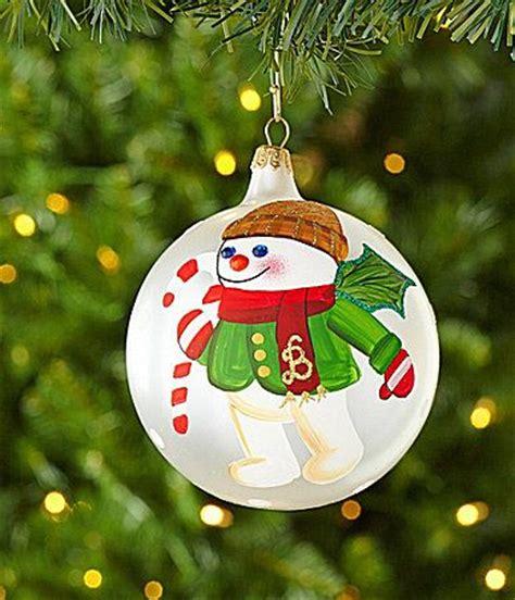 Dillards Decorations 2014 by Dillards Trimmings 4 2014 Mr Bingle Glass Ornament