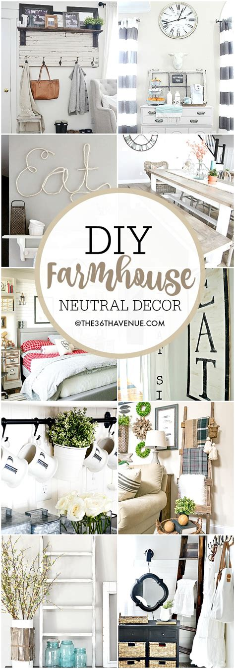 home diy decor ideas farmhouse diy home decor ideas the 36th avenue